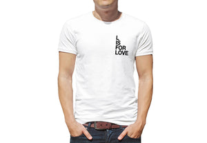 'L is for Love' Small Text T-Shirt