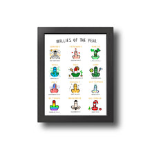 Load image into Gallery viewer, Willies of the Year Print