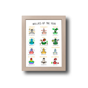 Willies of the Year Print