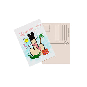 'Wish You Were Here' Postcard 5 Pack