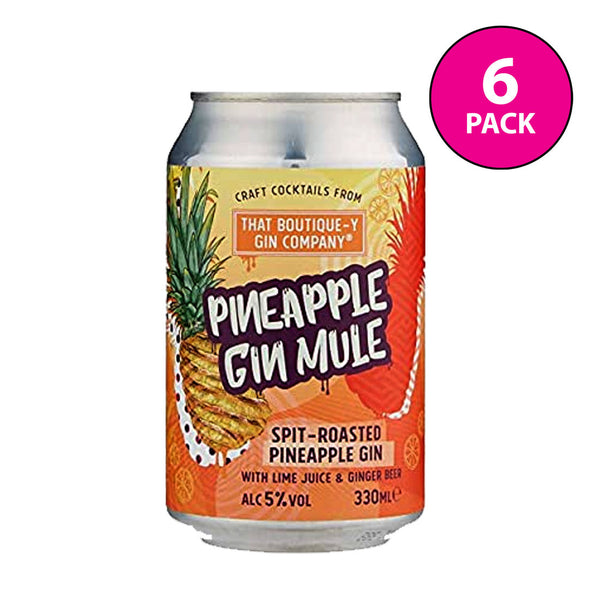 Boutique-y Pineapple Mule Cocktail Cans 6x330ml