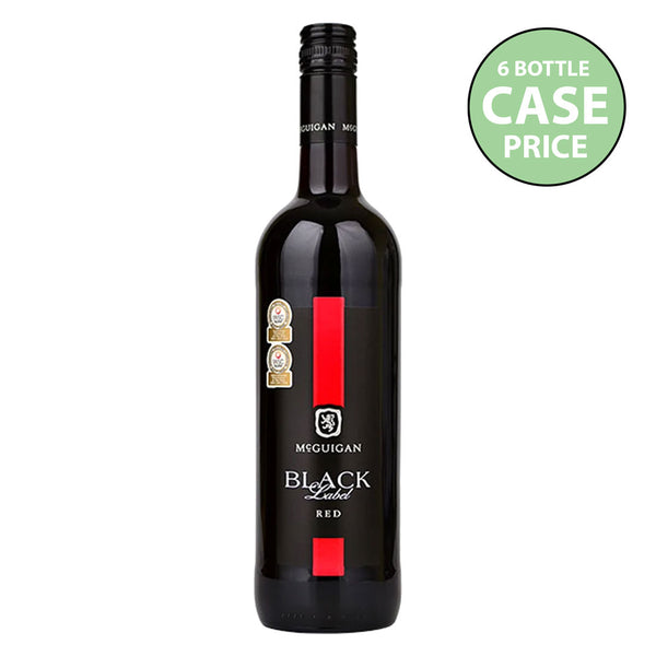 McGuigan Black Label Red Blend Case 6x75cl