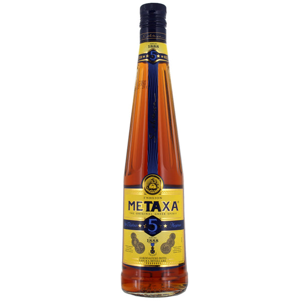 Metaxa 5 Star Greek Brandy 70cl