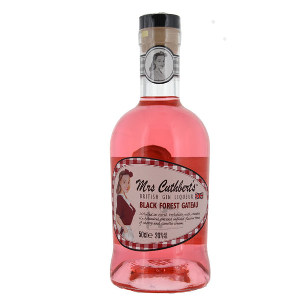 Mrs Cuthbert's Black Forest Gateau Gin Liqueur 50cl