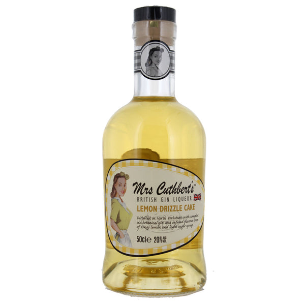 Mrs Cuthbert's Lemon Drizzle Gin Liqueur 50cl