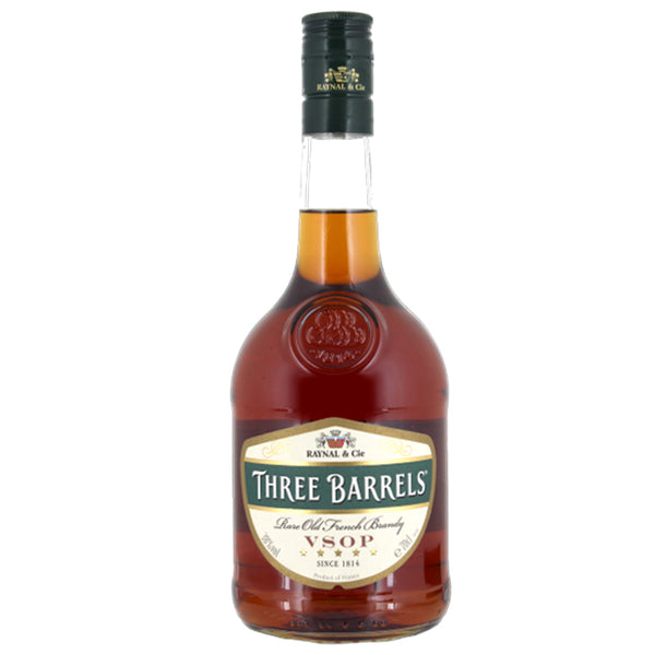 Three Barrels Brandy 70cl