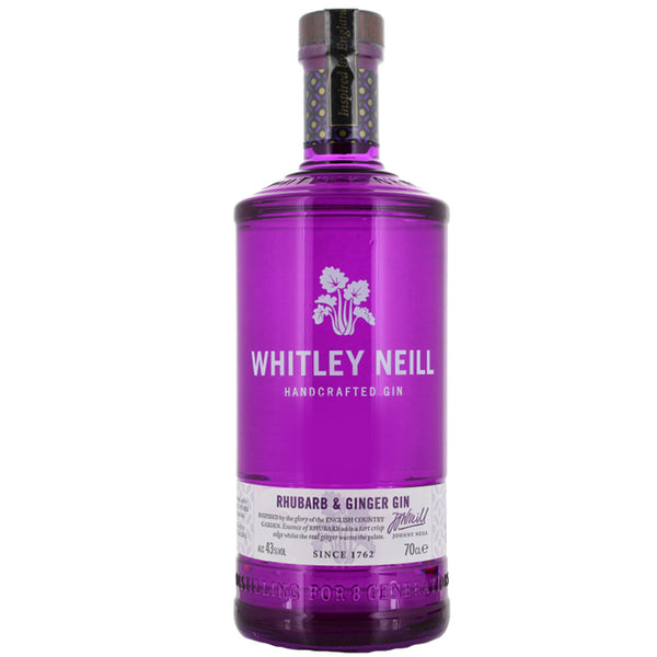Whitley Neill Rhubard and Ginger 70cl