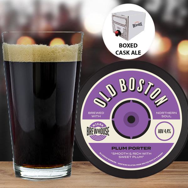 Wigan Brewhouse Old Boston Plum Porter 5 Litre Cask