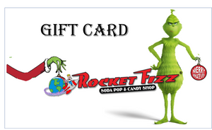 GRINCH HOLIDAY GIFT CARD