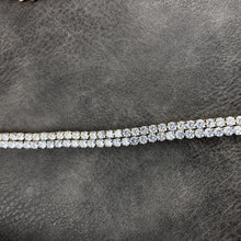 Load image into Gallery viewer, TENNIS BRACELET | - 18K White Gold
