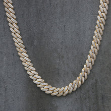 Load image into Gallery viewer, CUBAN PRONG CHAIN | 12mm | - 18K Gold
