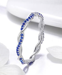 L'ouverture |  Twisted Blue | Sterling Silver 925
