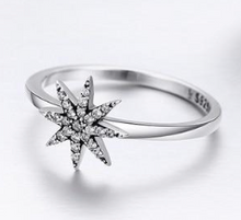 Load image into Gallery viewer, L'ouverture | Sparkling Star | Sterling Silver 925