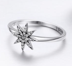 L'ouverture | Sparkling Star | Sterling Silver 925