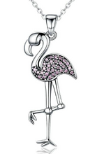 Load image into Gallery viewer, L'ouverture | Pink Flamingo | Sterling Silver 925