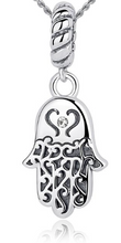 Load image into Gallery viewer, L'ouverture | The Hamsa | Sterling Silver 925