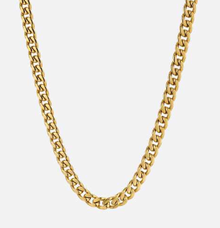 Classical Cuban | - 18K Gold