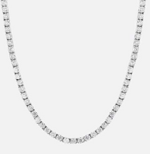 Load image into Gallery viewer, TENNIS CHAIN | - 18K White Gold