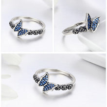 Load image into Gallery viewer, L'ouverture |  Blue Butterfly | Sterling Silver 925