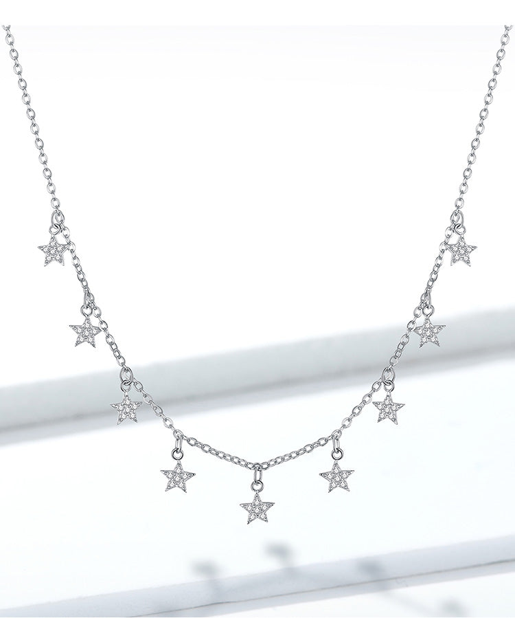 L'ouverture | The Northern Stars Choker | Sterling Silver 925