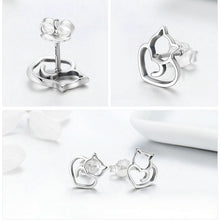 Load image into Gallery viewer, L'ouverture | Baby Cat | Sterling Silver 925