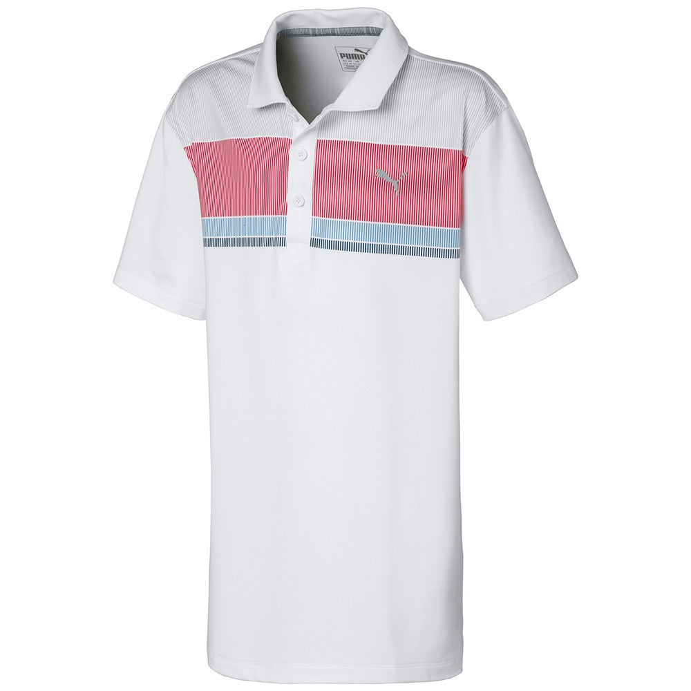 JUNIORS ROAD MAP GOLF POLO