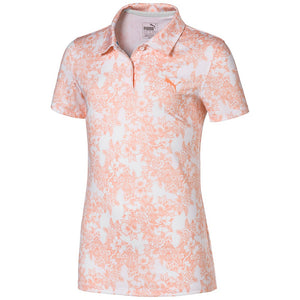 GIRLS FLORAL POLO