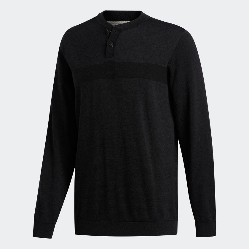 ADIPURE TECH HENLEY SHIRT (2 Colors Available)