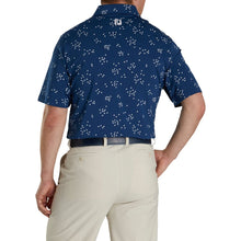 Load image into Gallery viewer, LISLE FLOCK OF BIRDS PRINT POLO