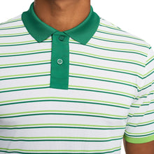 Load image into Gallery viewer, PERFORATED MULTI STRIPE POLO