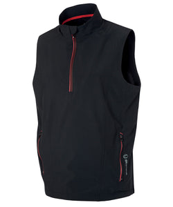 MEN'S KIEFER HALF-ZIP LINED WIND VEST