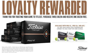 Titleist Loyalty Program