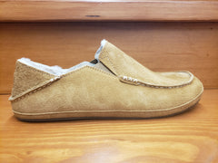 Olukai Moloa Slipper Tobacco suede leather  10252-ARAR