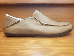 Olukai Moloa Slipper Toffee nubuck leather  10252-3363