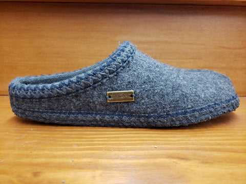 Haflinger AS classic slipper grey 611002-4