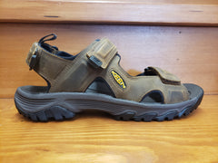 Keen Targhee III open toe sandal Bison/mulch leather 1022423