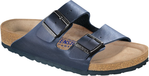Birkenstock Arizona Soft Footbed Navy Blue birko-flor  51061