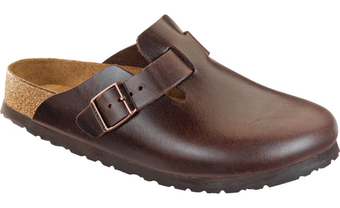 Birkenstock Boston Soft Footbed Brown Amalfi leather   59841