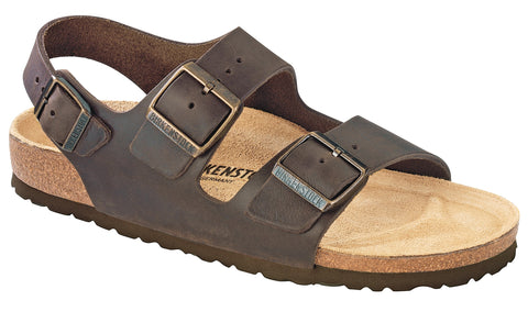 Birkenstock Milano Habana leather   34871