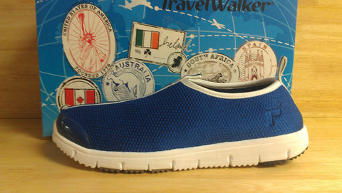 Propet Travel Walker Slip On W3231 Navy