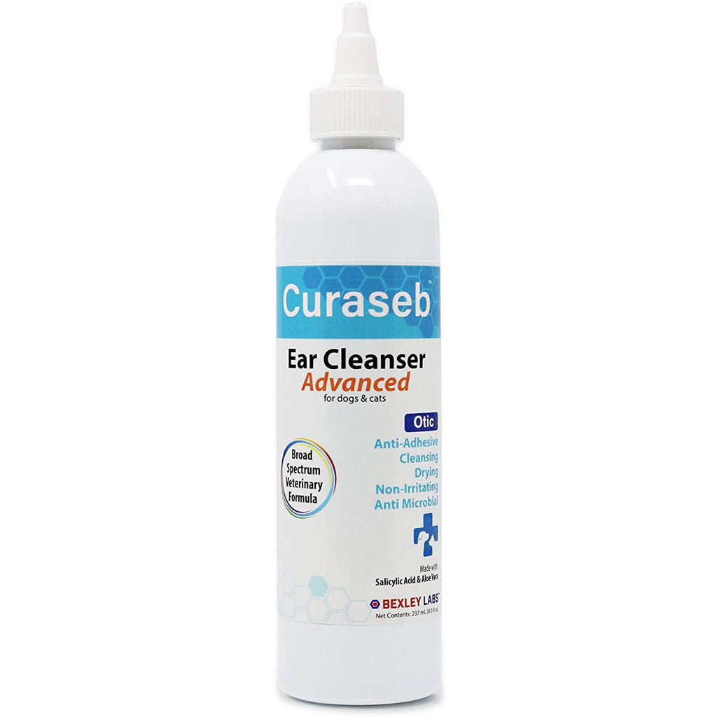 Curaseb Ear Cleaner Solution for Dogs and Cats 8oz