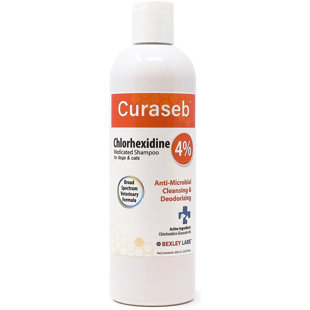 Curaseb Chlorhexidine 4% Shampoo for Dogs and Cats