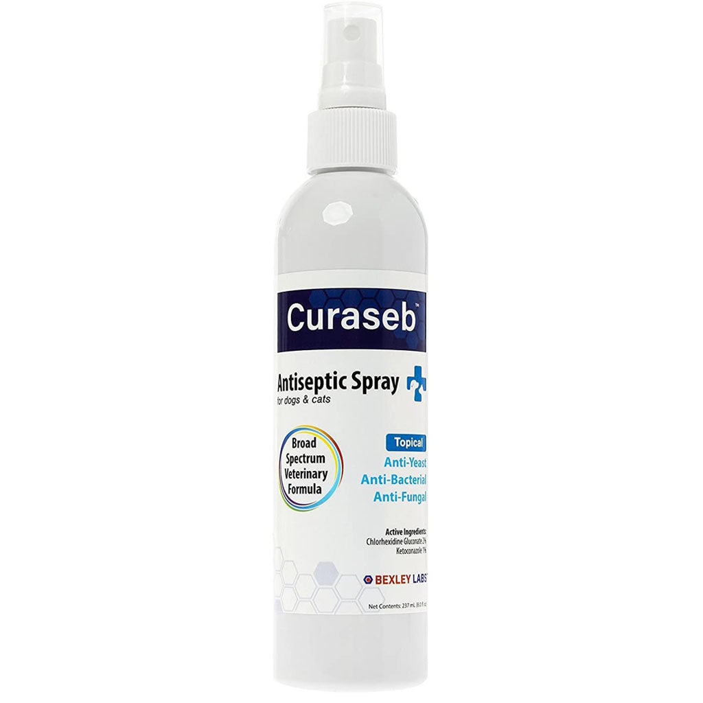 Curaseb Antifungal and Antibacterial Spray for Dogs and Cats