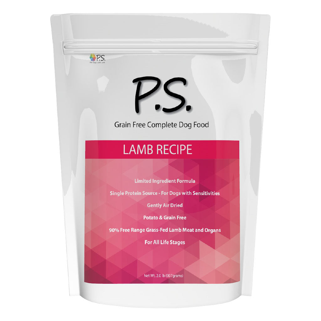 PS For Dogs Hypoallergenic Dog Food - Lamb Recipe