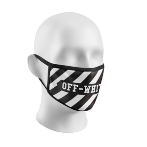 off-white face mask