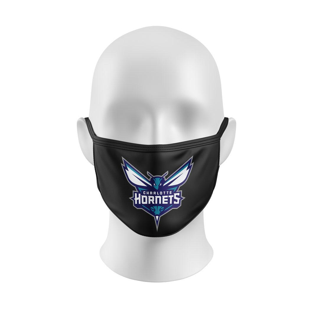 CHARLOTTE HORNETS Mask, NBA Face Mask
