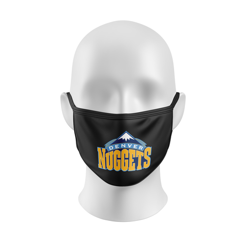 DENVERS NUGGETS Mask, Denver Nuggets face mask