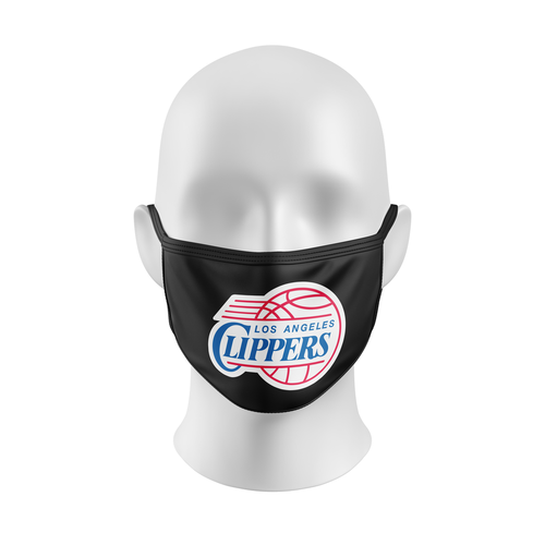 NBA MASK, NBA FACEMASK, LOS ANGELES CLIPPERS, BASKETBALL, CUSTOM FACEMASK