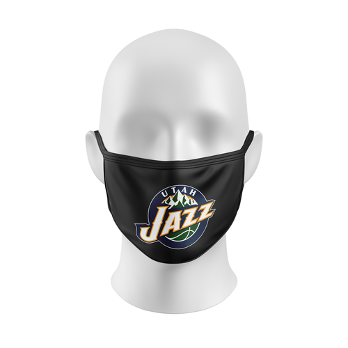 NBA MASK, NBA FACEMASK, UTAH JAZZ, BASKETBALL, CUSTOM FACEMASK