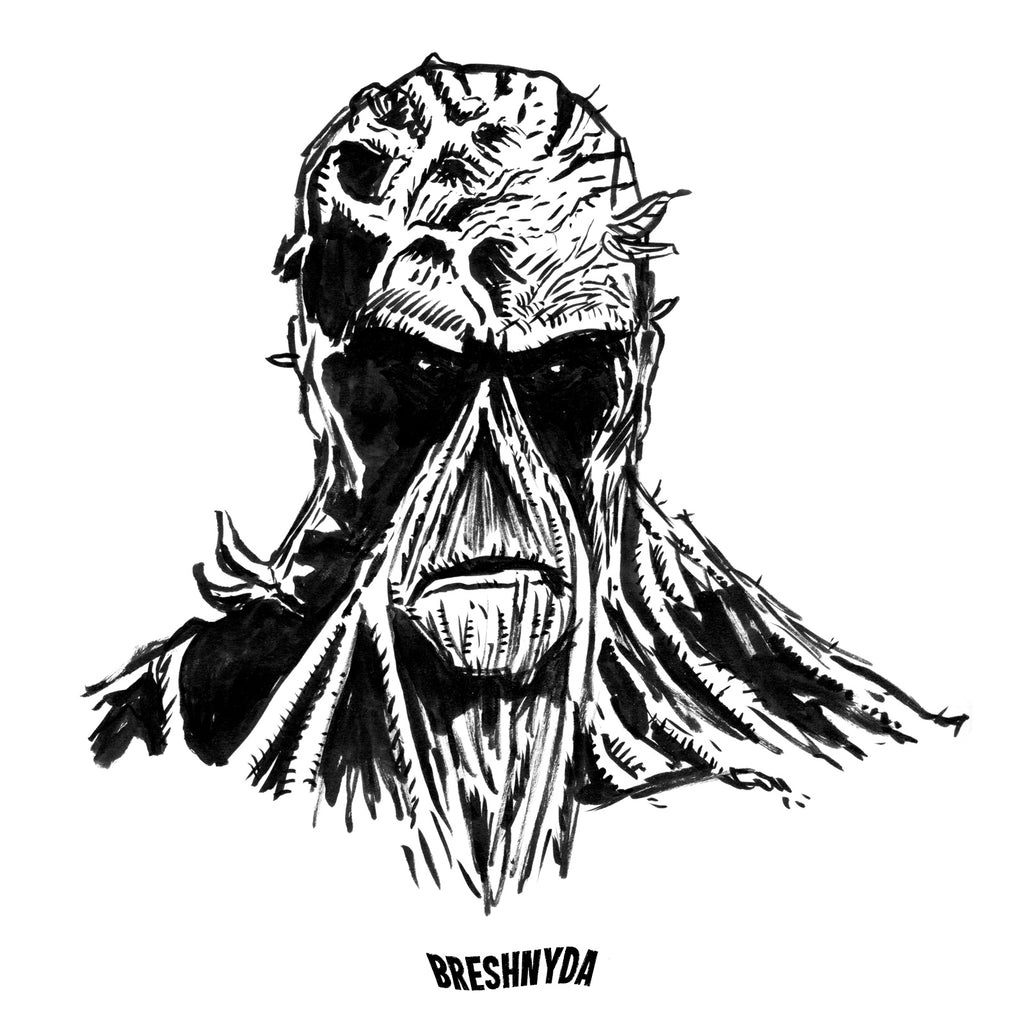Inktober 2017, Day 5: Swamp Thing (Bonus)